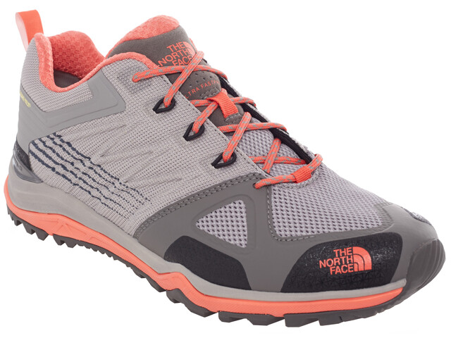 The North Face Ultra Fastpack 2 GTX Shoes Women foil grey/radiant orange